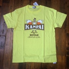 ROTAR/ローター KAMPAI my fellas 半袖 Tシャツ