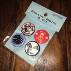 "SIRANOBROS/シラノブロス BADGES, ""Deliveryman 2"""