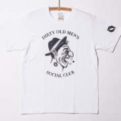 "SIRANOBROS/シラノブロス 6.2oz T-shirts ""DIRTY OLD MEN'S"