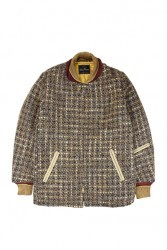 Dry bones/ドライボーンズ Splash Tweed Car Coat カーコート