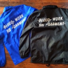 B,R,G/Bluco Work Germent コーチジャケット