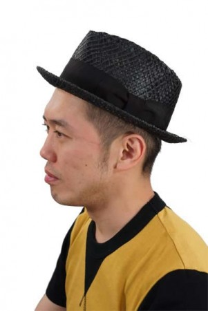 Dry bones/ドライボーンズ Twisted Straw Gambler Hat