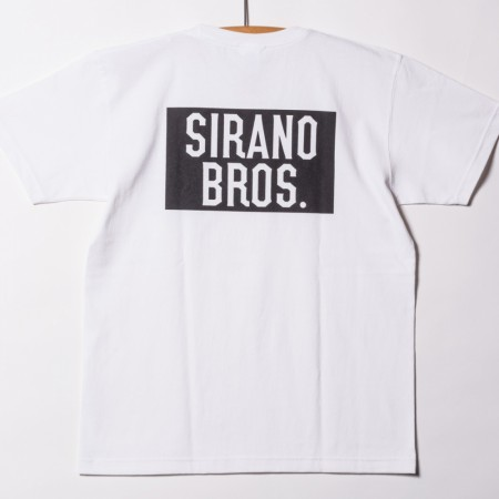 "SIRANOBROS/シラノブロス7.1oz T-shirts ""SIRANO BROS."""