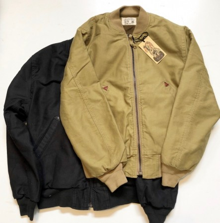 UNCROWD/アンクラウド UC-112-018 BOMBER JACKET BLACK MA-!