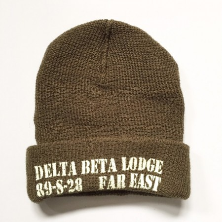 Dry bones/ドライボーンズ DCH-451 Naval Lodge Watch Cap